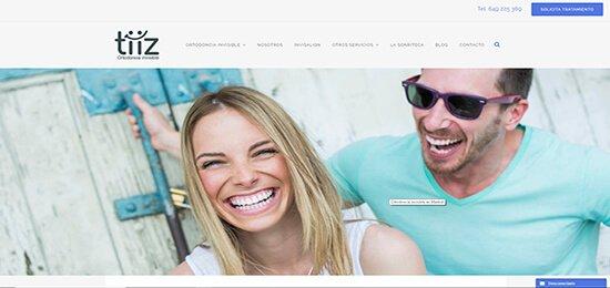 Diseño pagina web dentista